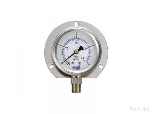 Oil-Filled Vertical All-Stainless Steel Pressore Gauges
